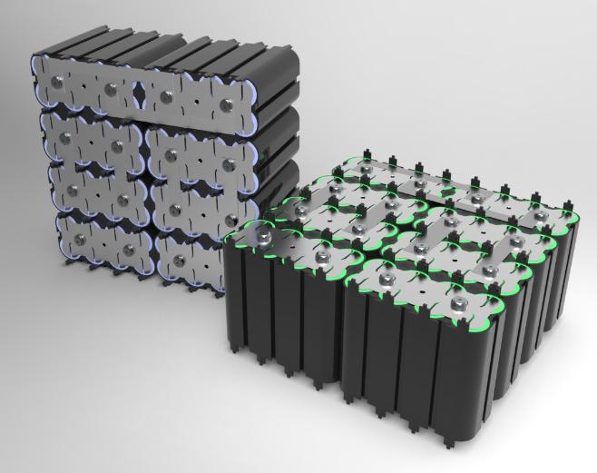 鉛電池代替用リチウムイオン電池パック(18650標準電池パック)     (リチウムイオン)