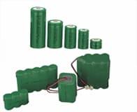 円筒形ニッケル水素電池(Ni-MH)