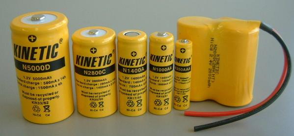 ニカド電池(Ni-Cd)